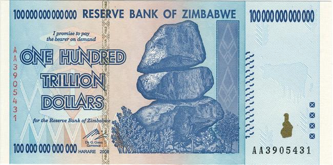 dollaro-Zimbabwe