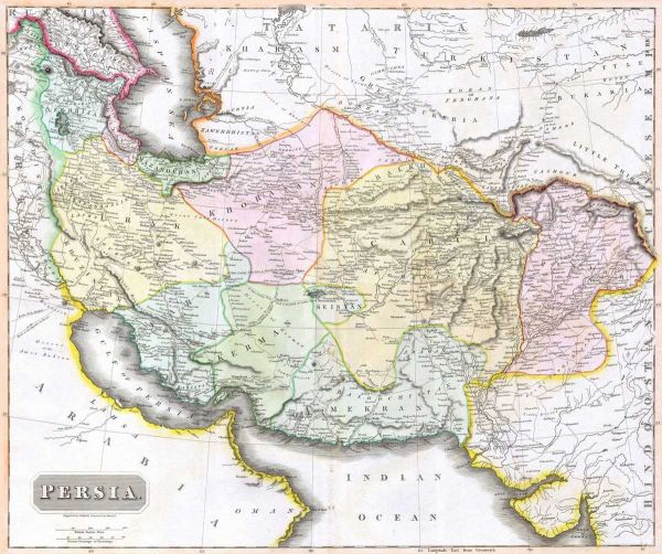 1814-Thomson-Map-of-Persia-HR