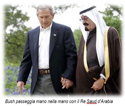 Bush Saud