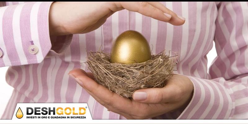 come posso proteggere il mio investimento in oro fisico