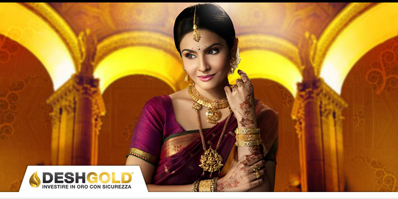 confisca oro india