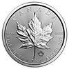 Silver Canadian maple Leaf moneta d'argento