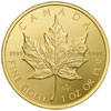 Gold Canadian maple Leaf moneta d'oro