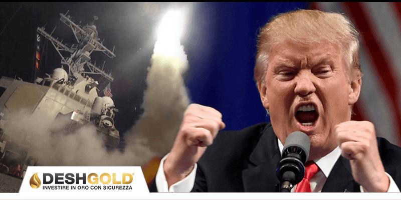 attacco siria trump
